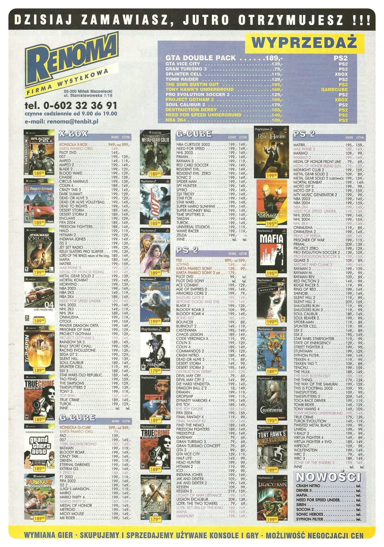 Neo Plus nr 066 20049q4 - Jak wyglądały ceny różnych konsol w Polsce w latach 1996-2006?