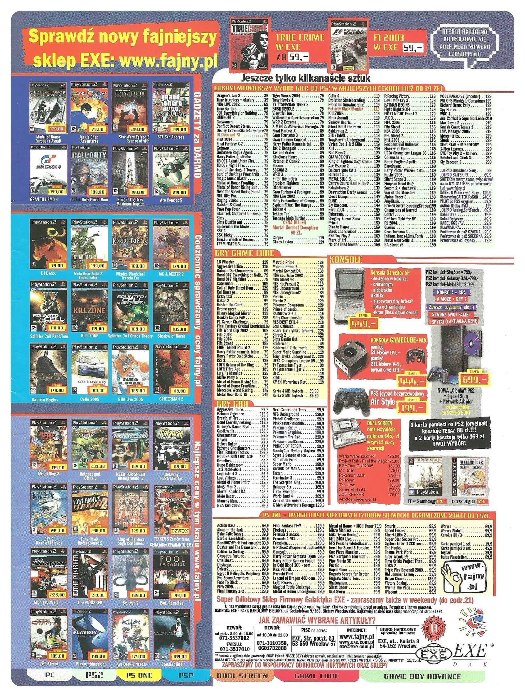 Neo Plus nr 077 200599q4 - Jak wyglądały ceny różnych konsol w Polsce w latach 1996-2006?