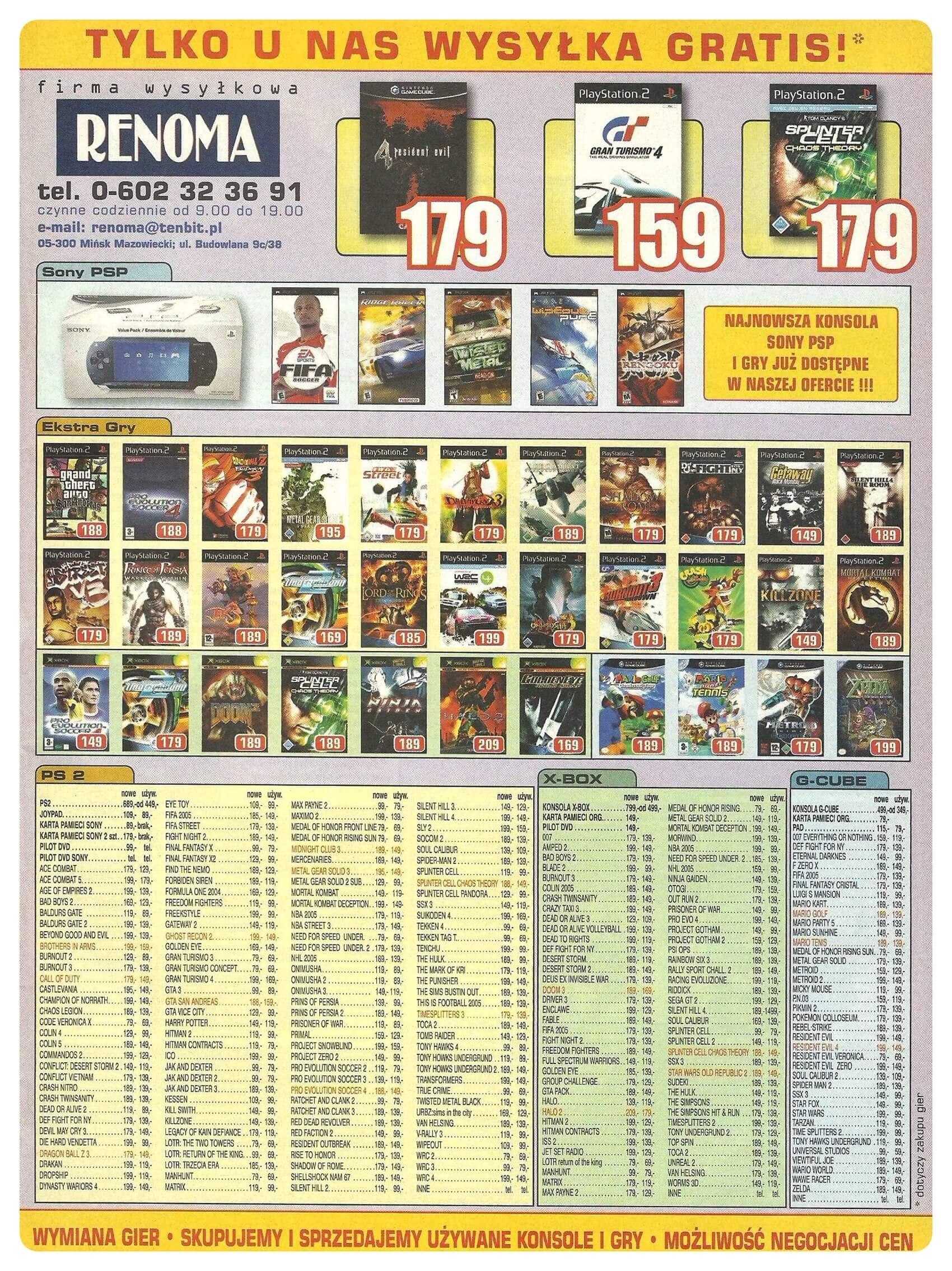 Neo Plus nr 077 20059q4 - Jak wyglądały ceny różnych konsol w Polsce w latach 1996-2006?