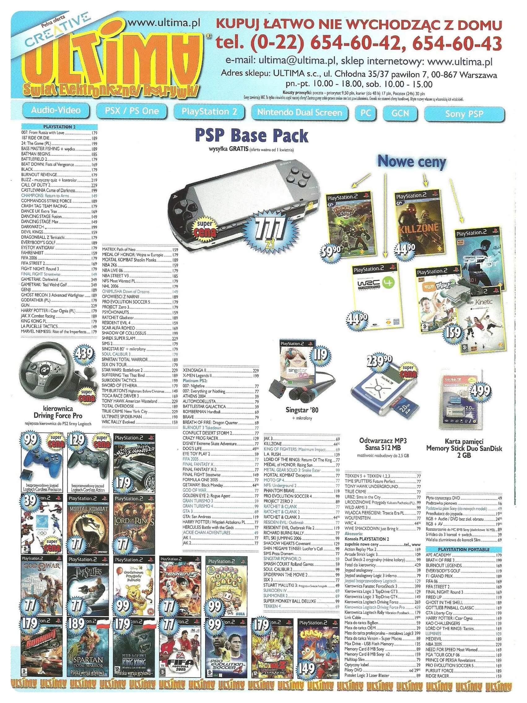 Neo Plus nr 087 20062q4 - Jak wyglądały ceny różnych konsol w Polsce w latach 1996-2006?