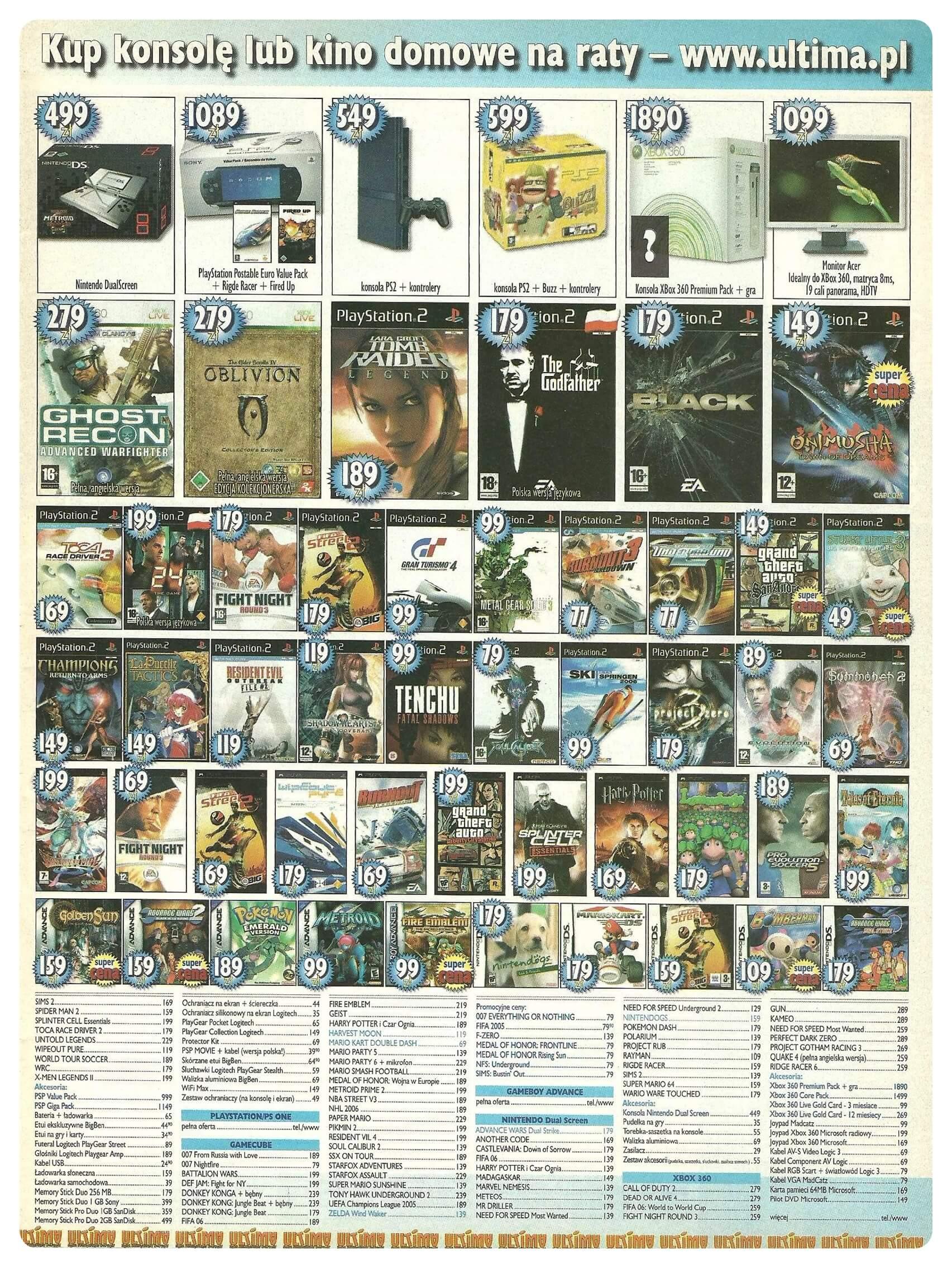 Neo Plus nr 087 20063q4 - Jak wyglądały ceny różnych konsol w Polsce w latach 1996-2006?