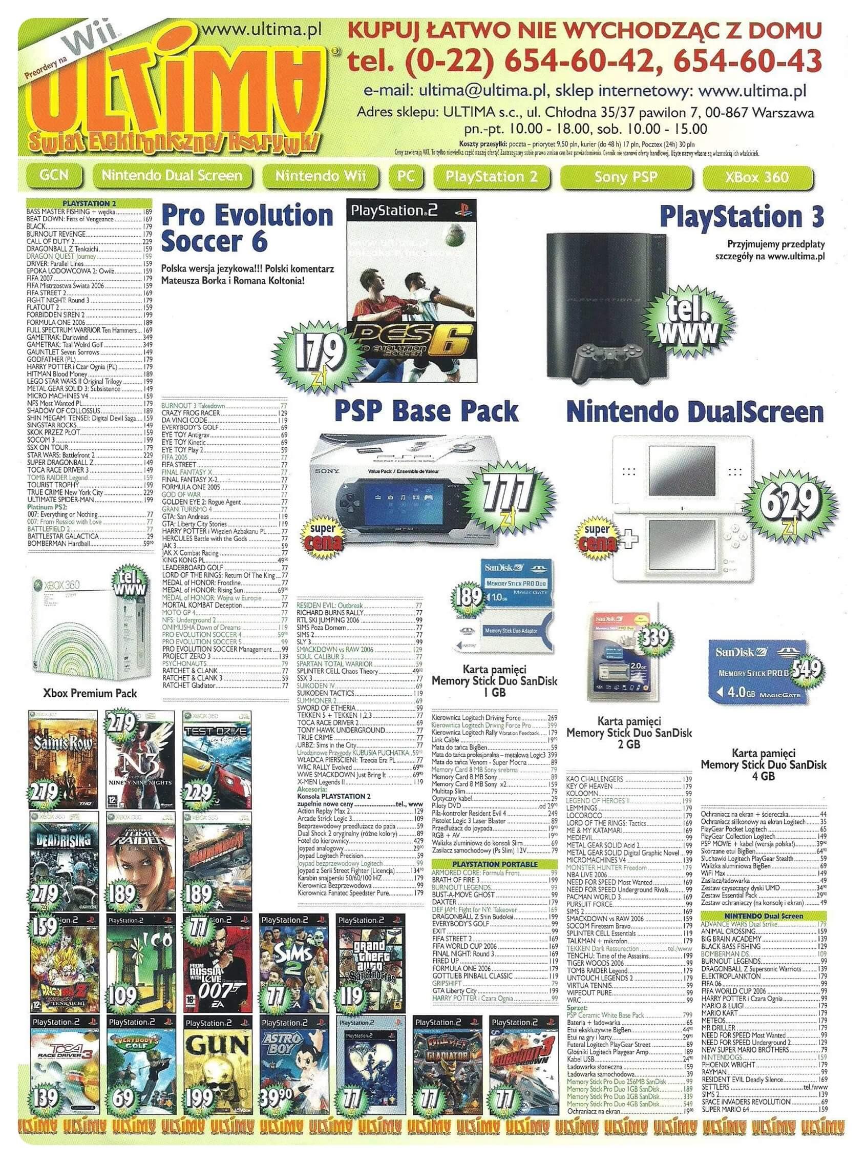 Neo Plus nr 091 20062q4 - Jak wyglądały ceny różnych konsol w Polsce w latach 1996-2006?
