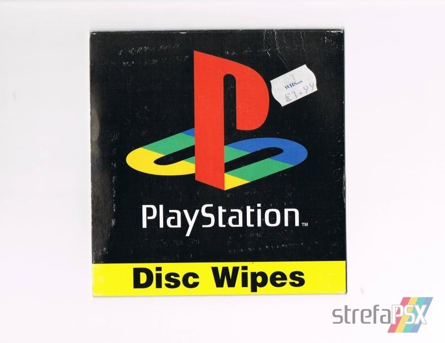 disc wipes playstation01 - [Inne] Oficjalne chusteczki do płyt / Disc Wipes
