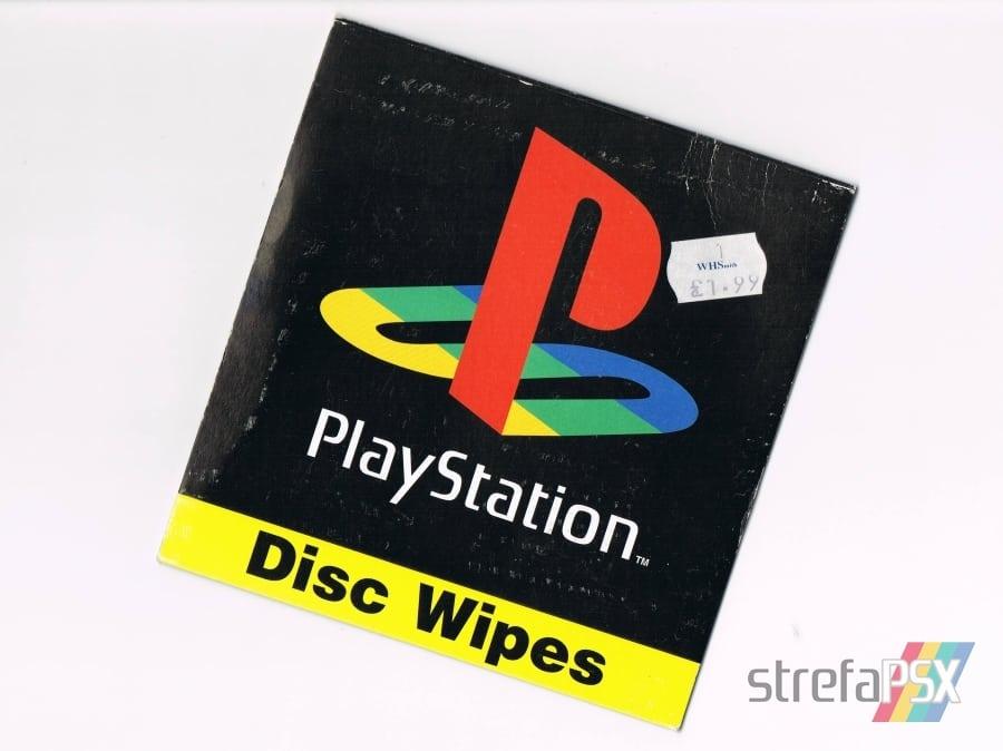 disc wipes playstation02 - [Inne] Oficjalne chusteczki do płyt / Disc Wipes