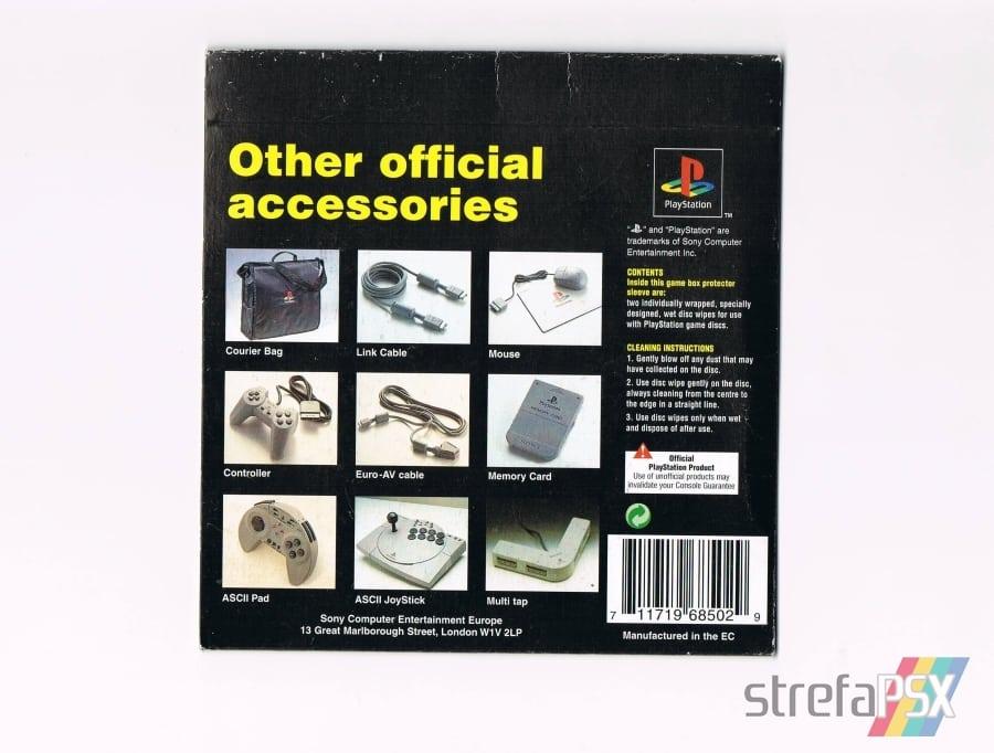 disc wipes playstation04 - [Inne] Oficjalne chusteczki do płyt / Disc Wipes