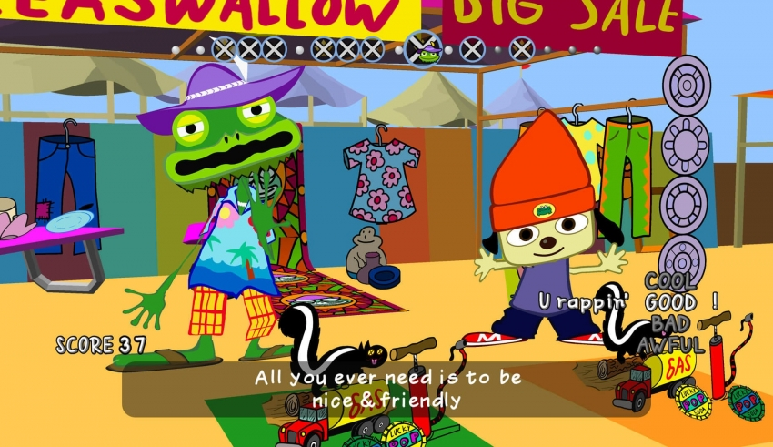 parappa the rapper remaster 850x491 - PaRappa the Rapper Remastered