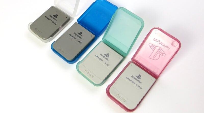 mc case baner - [SCPH-1210] Protektor na kartę pamięci / Memory Card Case