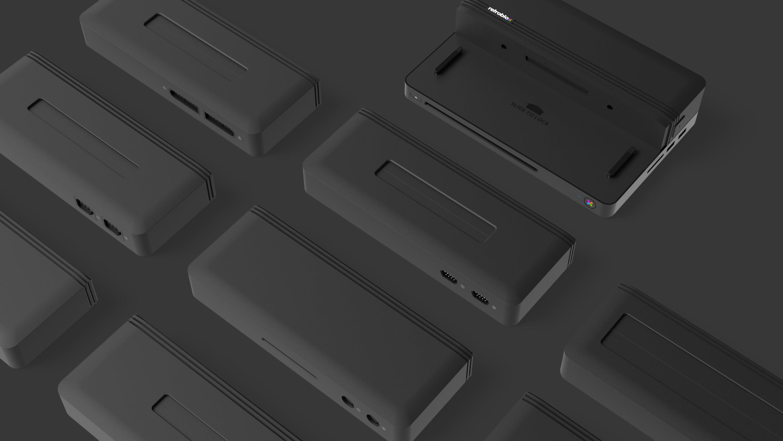 Retroblox Blox 8 grey - RetroBlox - pierwsza modularna retro konsola HD z PSX na pokładzie?