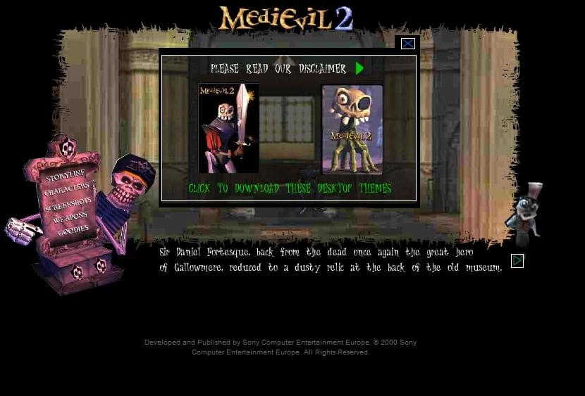 medievil 2 website - Kolekcjonerskie wydania gier - Zestaw prasowy MediEvil 2