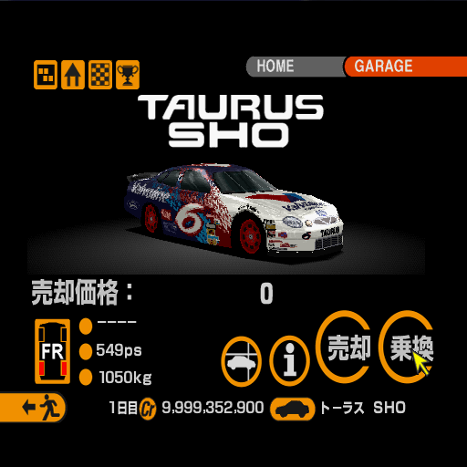 GT2 TaurusR JP - Ewolucje gier - Jak mogło wyglądać kultowe Gran Turismo 2?