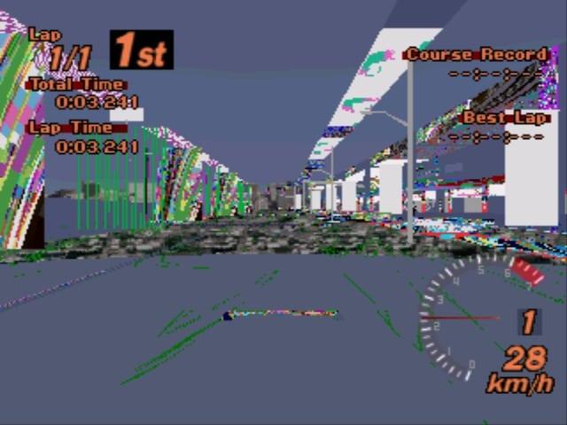 Shot195 bmp - Ewolucje gier - Jak mogło wyglądać kultowe Gran Turismo 2?