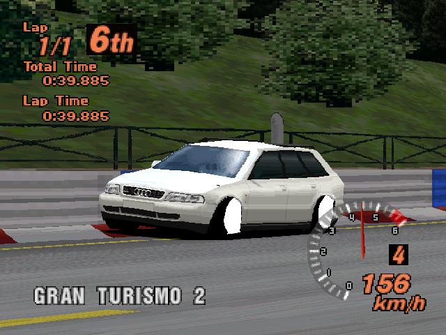 audiavant - Ewolucje gier - Jak mogło wyglądać kultowe Gran Turismo 2?