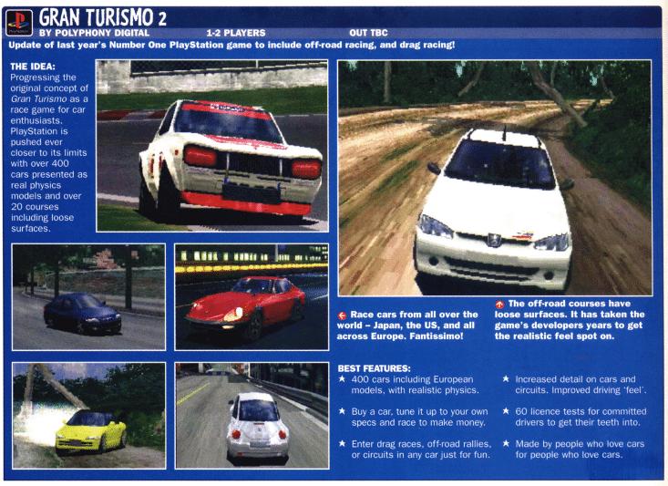 betacontent - Ewolucje gier - Jak mogło wyglądać kultowe Gran Turismo 2?