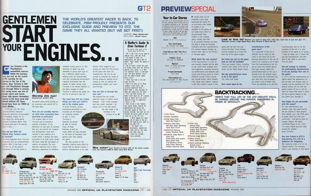 betacontent2 - Ewolucje gier - Jak mogło wyglądać kultowe Gran Turismo 2?