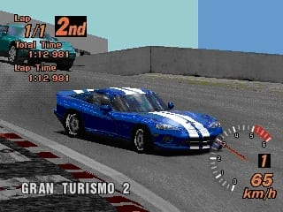 dodge - Ewolucje gier - Jak mogło wyglądać kultowe Gran Turismo 2?