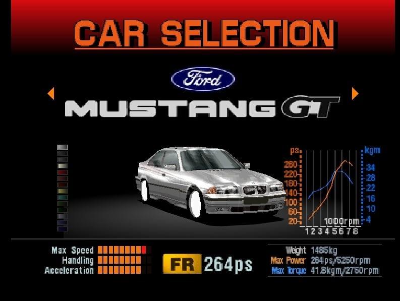 e36coupe - Ewolucje gier - Jak mogło wyglądać kultowe Gran Turismo 2?