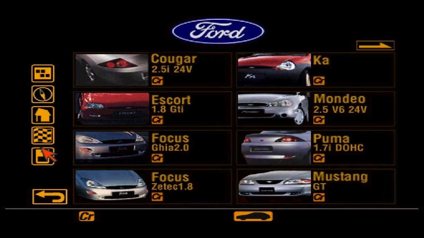 ford - Ewolucje gier - Jak mogło wyglądać kultowe Gran Turismo 2?