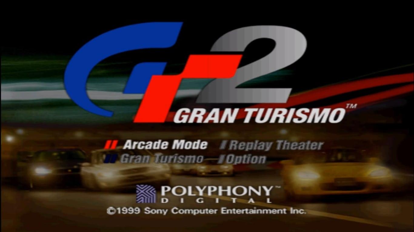 gt2demomenu ntsc - Ewolucje gier - Jak mogło wyglądać kultowe Gran Turismo 2?