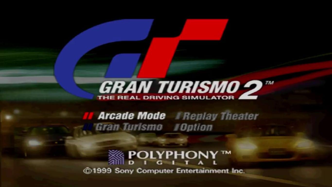 gt2demomenu pal jp - Ewolucje gier - Jak mogło wyglądać kultowe Gran Turismo 2?