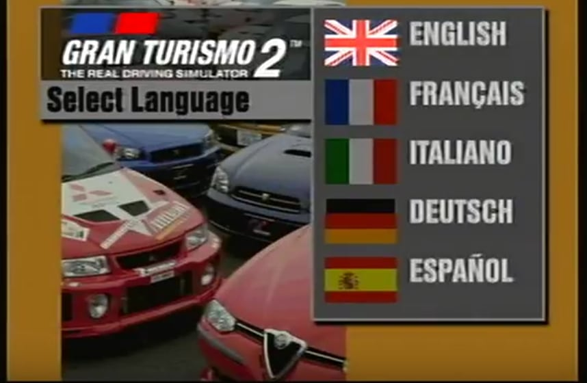 gtalang - Ewolucje gier - Jak mogło wyglądać kultowe Gran Turismo 2?