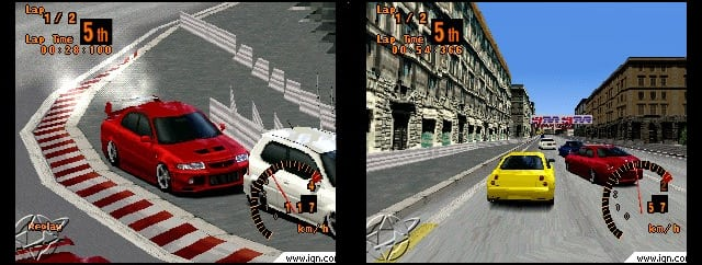 igne3gt2 - Ewolucje gier - Jak mogło wyglądać kultowe Gran Turismo 2?
