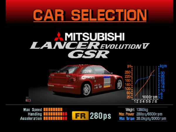 xsararally - Ewolucje gier - Jak mogło wyglądać kultowe Gran Turismo 2?