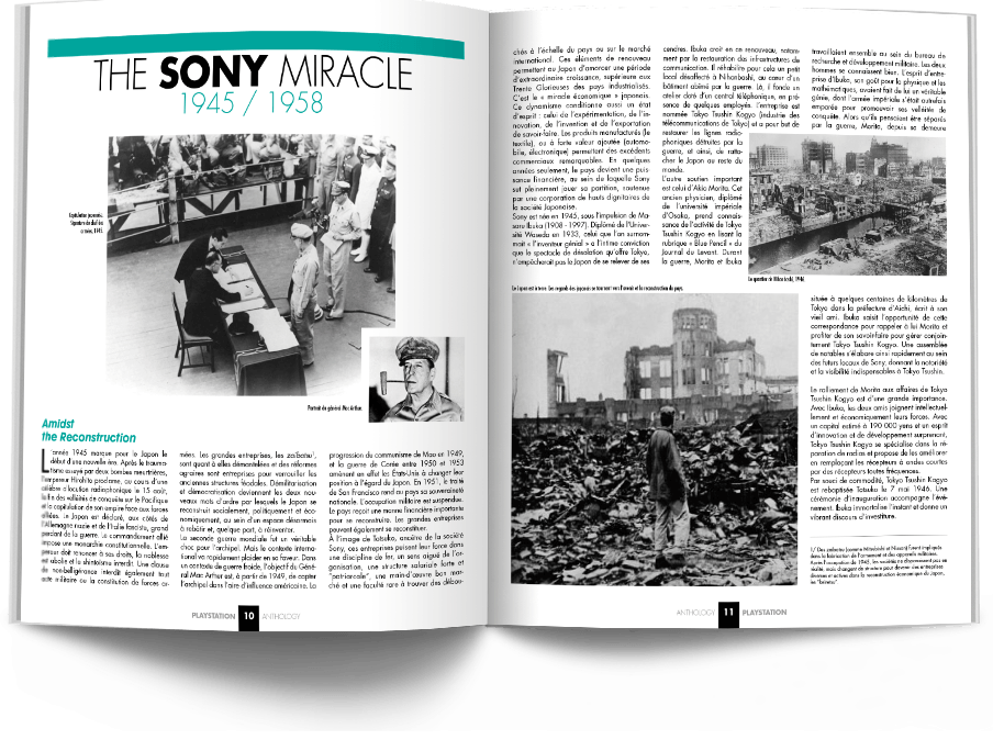 "Pages010 011 HistoirePSX1 VOL1 - ""Antologia PlayStation"" - zapowiedź"