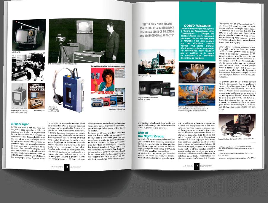 "Pages016 017 HistoirePSX1 VOL1 - ""Antologia PlayStation"" - zapowiedź"