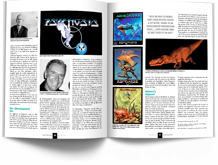 "Pages030 031 HistoirePSX1 VOL1 - ""Antologia PlayStation"" - zapowiedź"