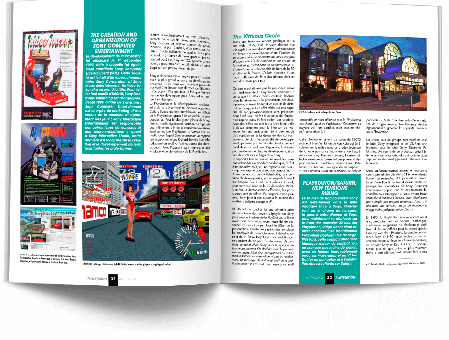 "Pages032 033 HistoirePSX1 VOL1 - ""Antologia PlayStation"" - zapowiedź"