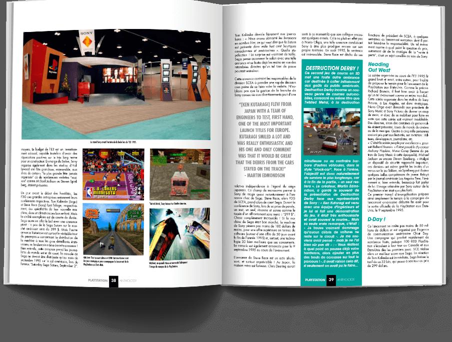 "Pages038 039 HistoirePSX VOL1 - ""Antologia PlayStation"" - zapowiedź"