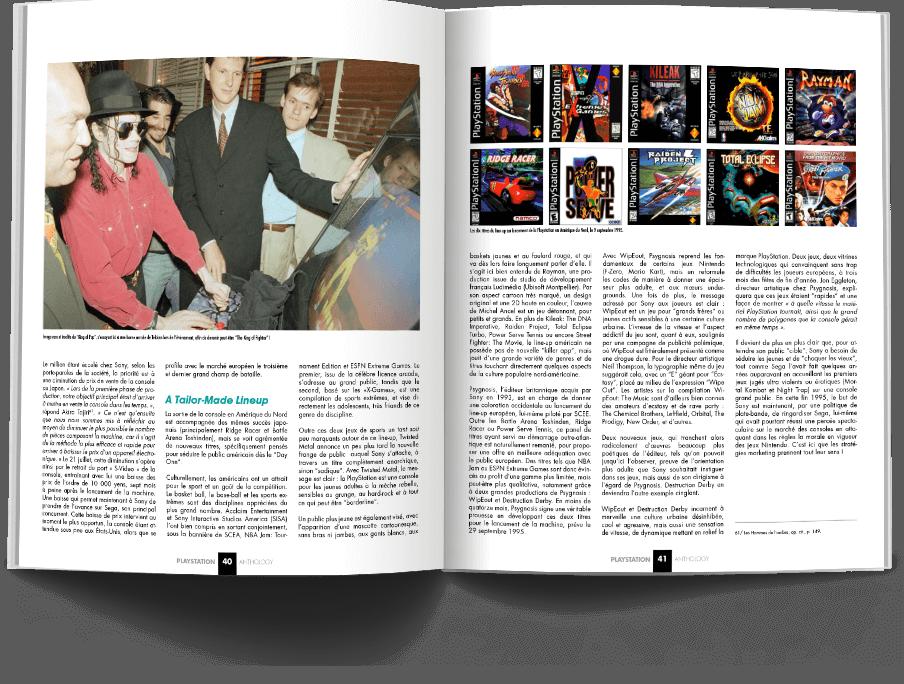 "Pages040 041 HistoirePSX VOL1 - ""Antologia PlayStation"" - zapowiedź"