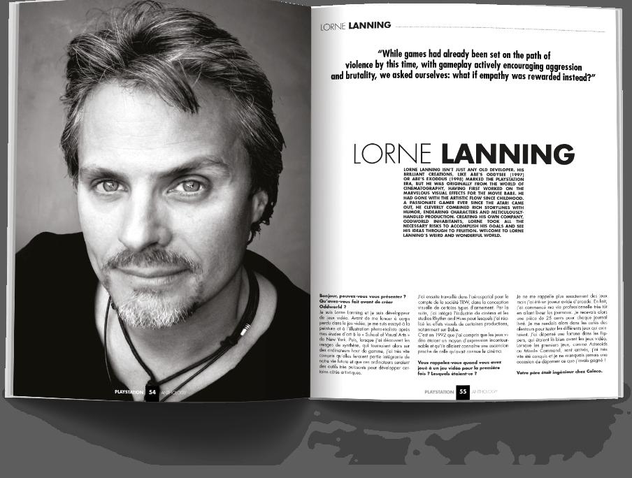 "Pages054 055 ITW.LorneLanningPSX1 VOL1 - ""Antologia PlayStation"" - zapowiedź"
