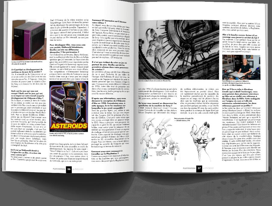 "Pages056 057 ITW.LorneLanningPSX1 VOL1 - ""Antologia PlayStation"" - zapowiedź"
