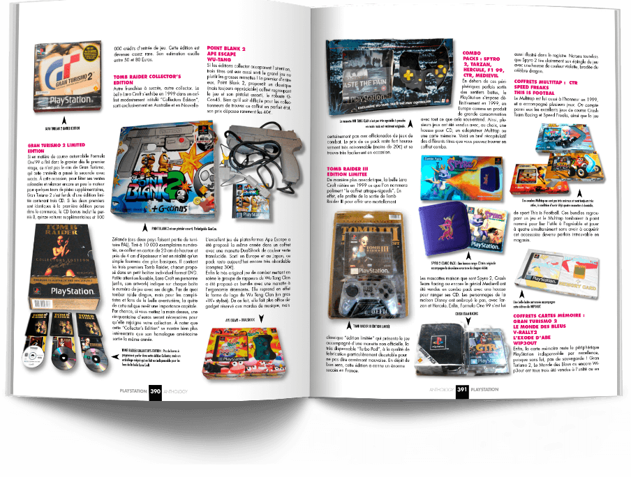"Pages390 391 CollectorPSX1 VOL2 - ""Antologia PlayStation"" - zapowiedź"