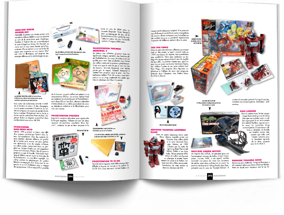 """Pages394 395 CollectorPSX1 VOL2 - """"Antologia PlayStation"""" - zapowiedź"""