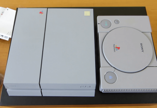 "konsola 20th anniversary 320x220 - Prezentacja i unboxing PlayStation 4 ""20th Anniversary"""
