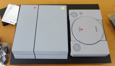 "konsola 20th anniversary 384x220 - Prezentacja i unboxing PlayStation 4 ""20th Anniversary"""