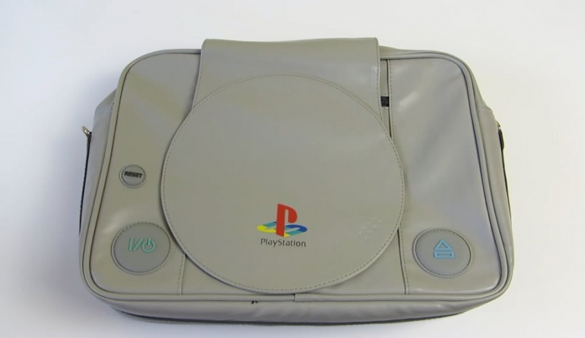 torba playstation baner 850x491 - Inspektor Gadżet #1 - Torba na ramię PlayStation