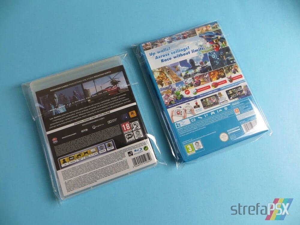 foliowe protektory gry 231 - Protektory na gry - trzy sposoby na przechowywanie i zabezpieczenie gier w swojej kolekcji