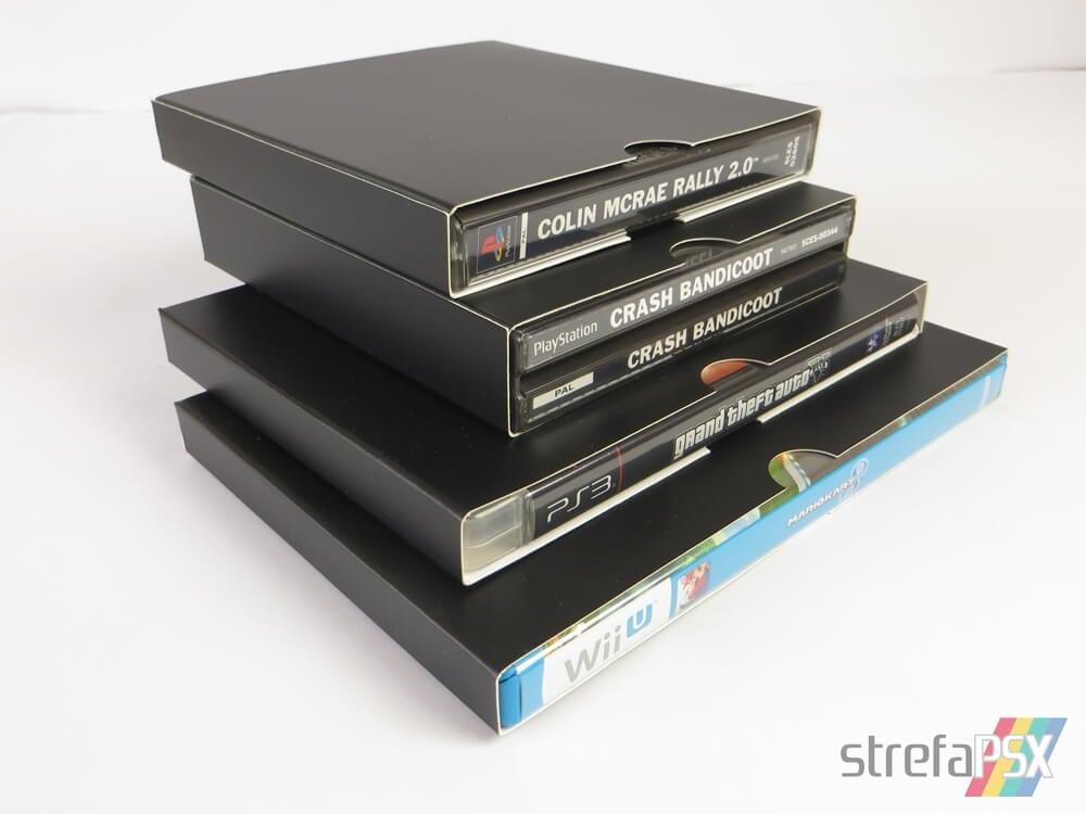 kartonowe protektory gry 191 - Protektory na gry - trzy sposoby na przechowywanie i zabezpieczenie gier w swojej kolekcji
