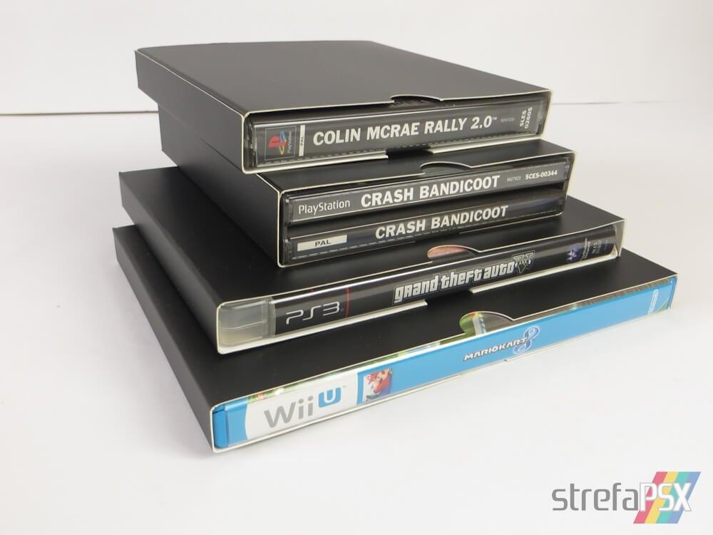 kartonowe protektory gry 221 - Protektory na gry - trzy sposoby na przechowywanie i zabezpieczenie gier w swojej kolekcji