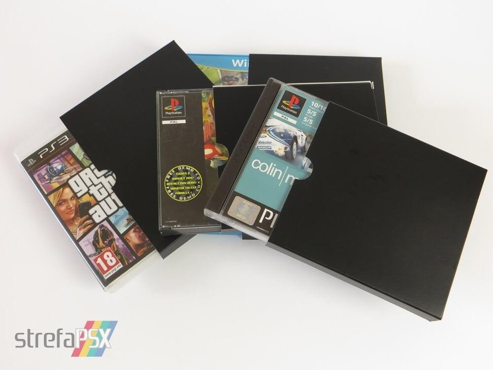 kartonowe protektory gry 261 - Protektory na gry - trzy sposoby na przechowywanie i zabezpieczenie gier w swojej kolekcji