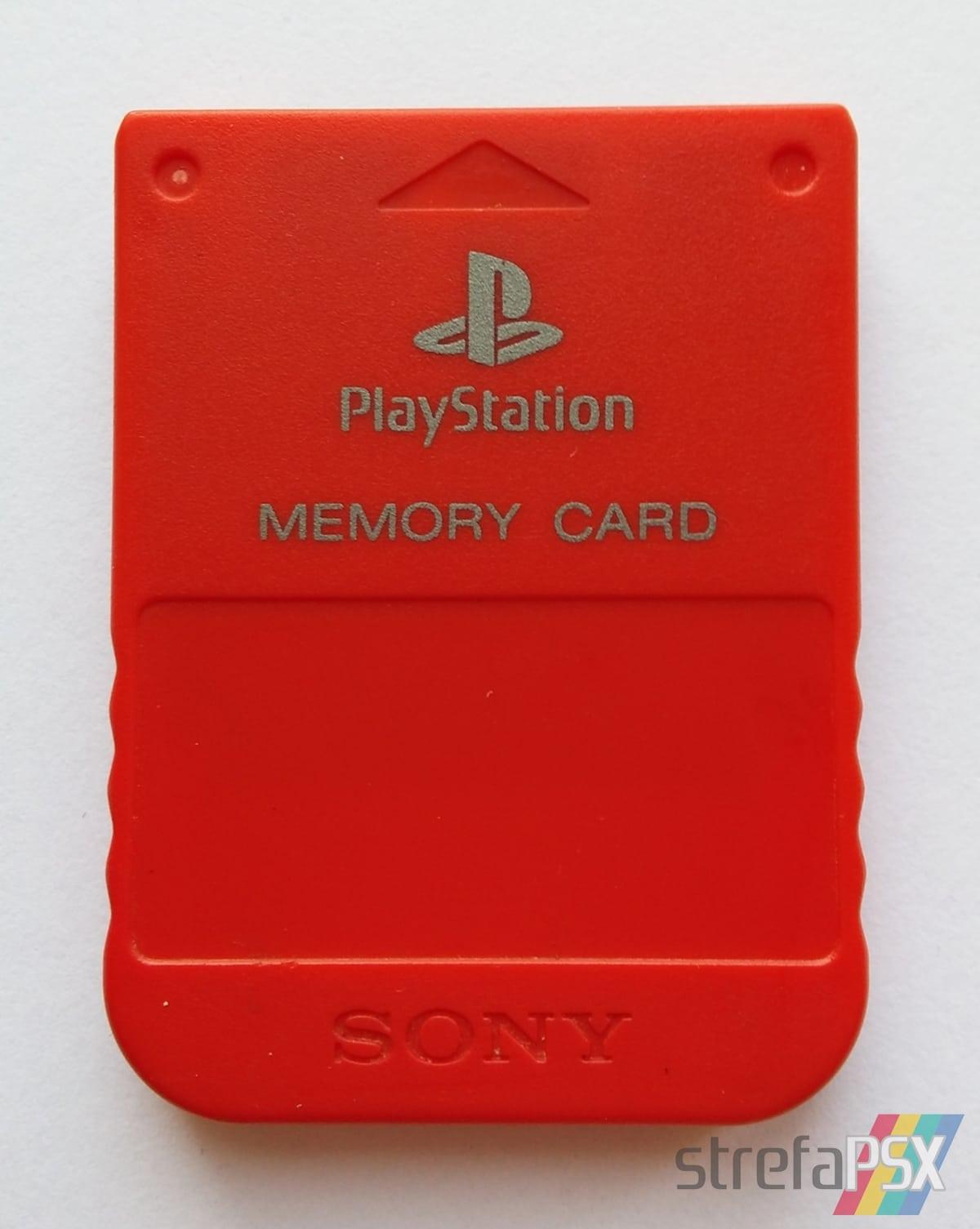 memory card scph 1020RJ011 - Jeszcze więcej kolorowych kart pamięci na Strefie!