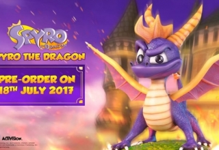 spyro the dragon figurka baner 320x220 - Kolekcjonerskie figurki Spyro the Dragon oraz Crash Bandicoot od First 4 Figures!