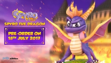 spyro the dragon figurka baner 384x220 - Kolekcjonerskie figurki Spyro the Dragon oraz Crash Bandicoot od First 4 Figures!