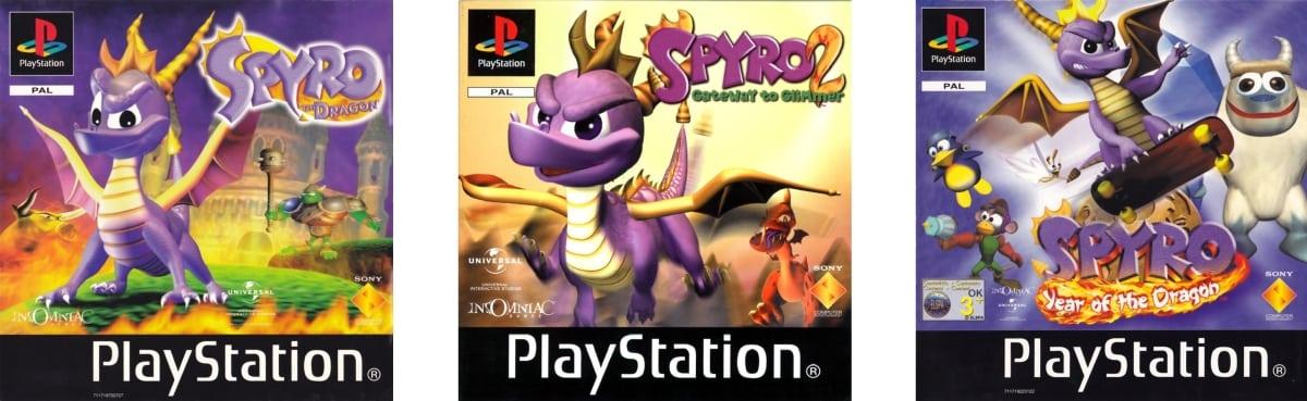 trylogia spyro - Oto 5 gier z PSX, które mogłyby powtórzyć sukces Crash N. Sane Trilogy