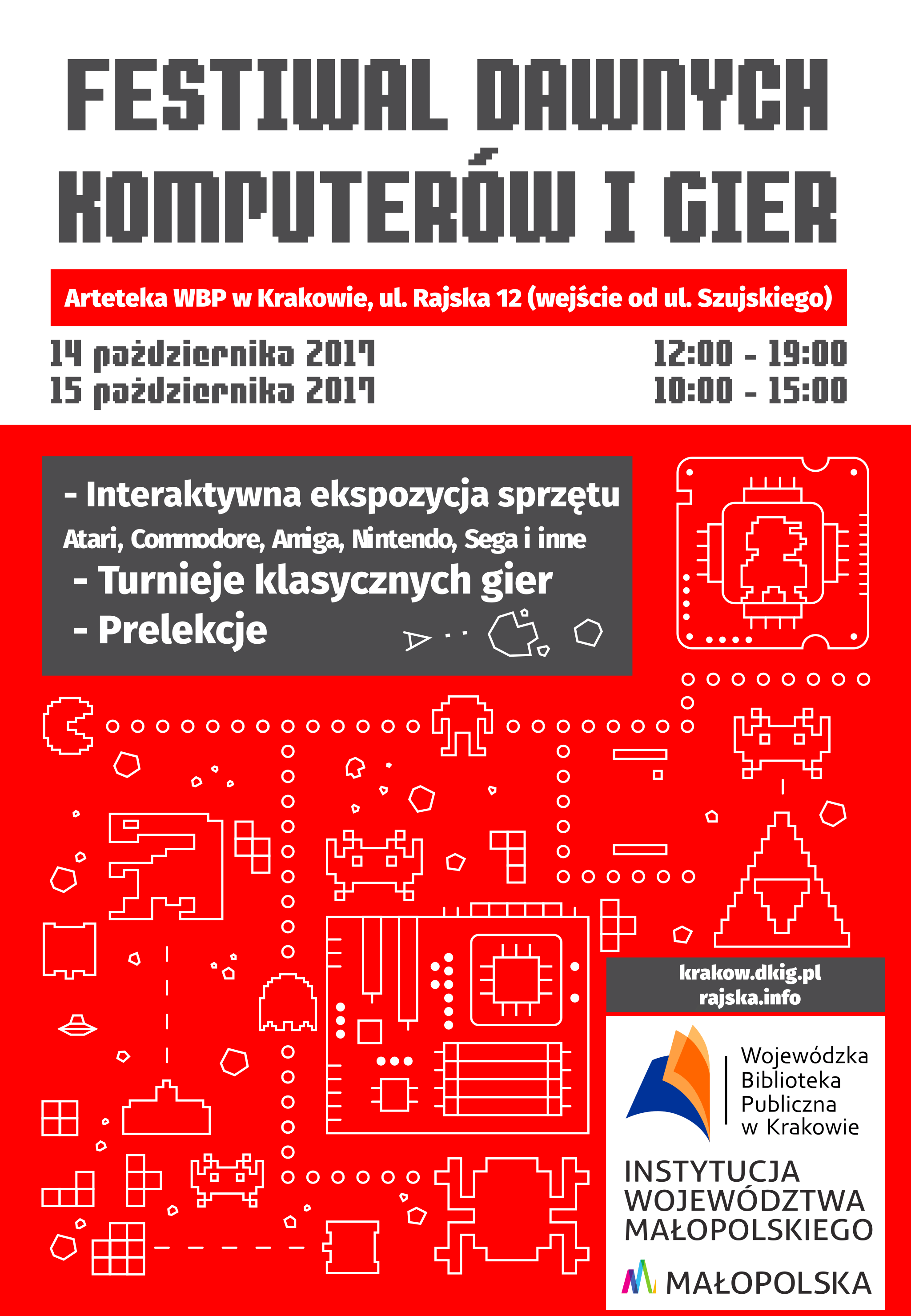 dawne komputery gry - Festiwal Dawnych Komputerów i Gier - Kraków 2017