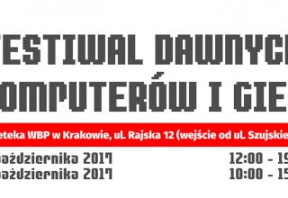 festiwal dawne komputery gry 320x220 - Festiwal Dawnych Komputerów i Gier - Kraków 2017