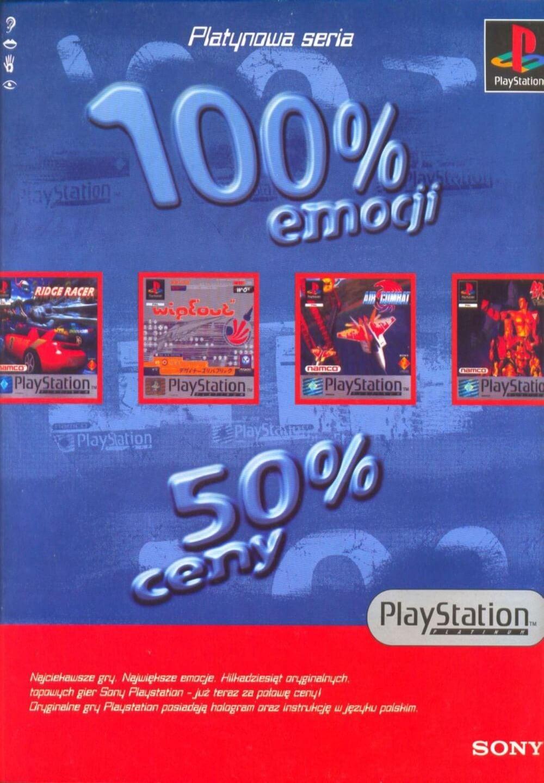 playstation platinum ads - Platynowa Edycja gier na PlayStation i jej historia